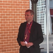 The Rt. Revd. Mark Tanner, Bishop of Chester officiated