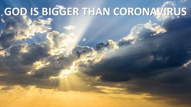 God is Bigger!